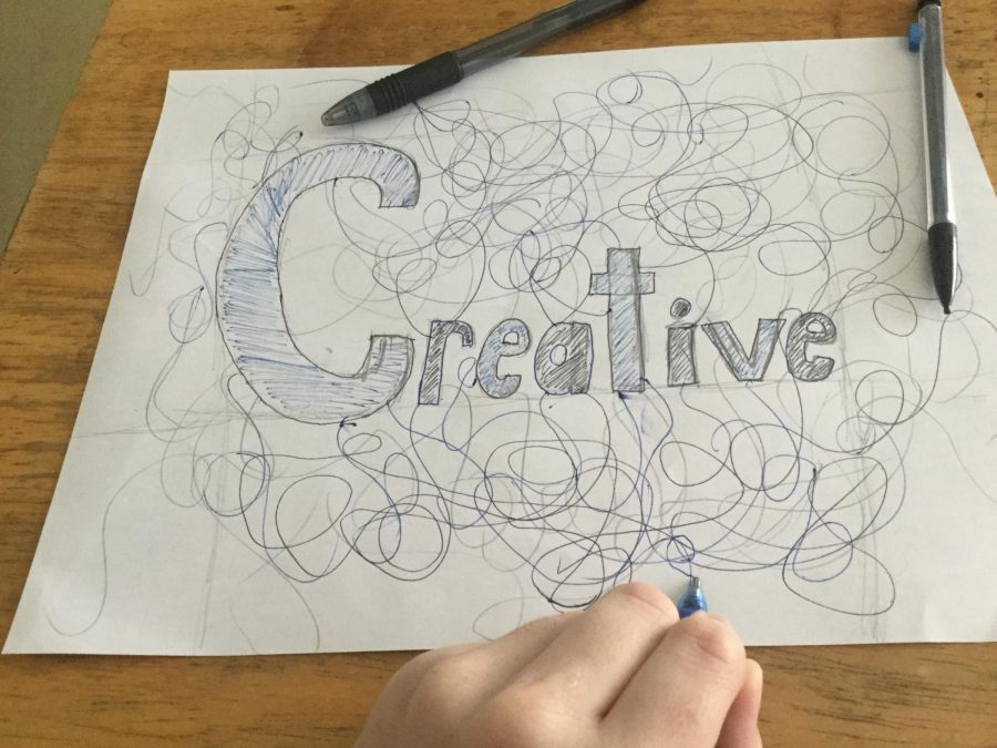 Are students becoming more or less creative because of online learning?
