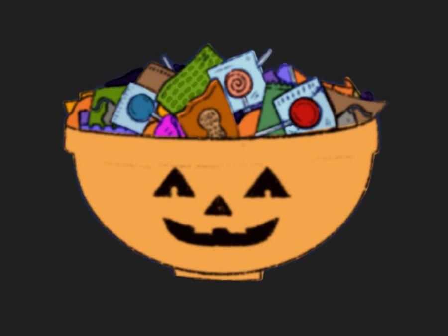 Leaving candy in a bowl for trick-or-treaters is safer than passing it out in-person.
