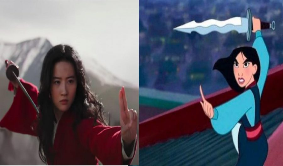 The+1998+version+of+Mulan+and+recently+released+live-action+Mulan+differed+in+plot+and+style--and+in+quality.+