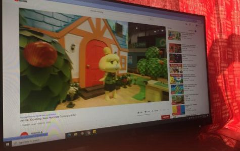 YouTube video describes new interactive features with the popular game Animal Crossing.