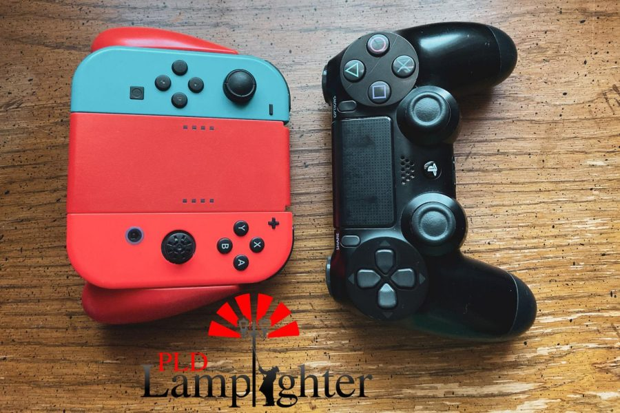 Switch and PlayStation Controllers