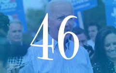 Biden became the 46th president amidst a series of economic and social crises.