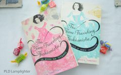 The Time-Traveling Fashionista trilogy by Bianca Turetsky. The trilogy includes On Board the Titanic, At the Palace of Marie Antoinette, and Cleopatra Queen of the Nile. This series is a fashion-filled time machine with a bit of mystery and thrill. I'd recommend this to anyone who enjoys history or fashion.