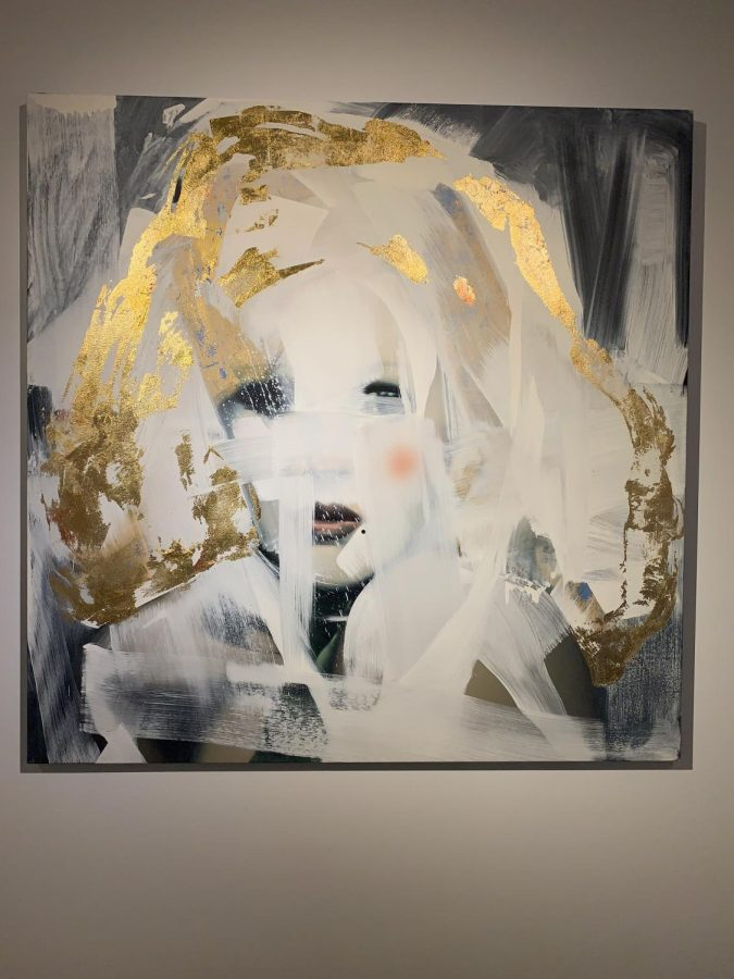 A painting of Candy Darling by American artist Rebecca Campbell.