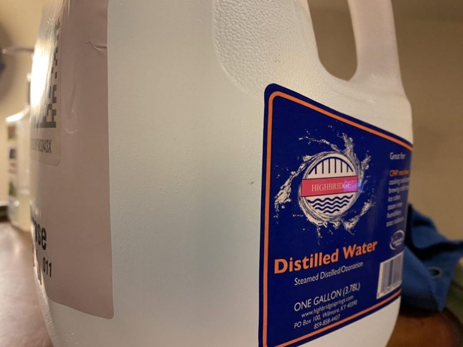 If you're trying to be more environmentally friendly, the best thing to do is to reduce the amount of plastic you use. But if you need to use plastic jugs like this one, be sure to recycle them when you're done.