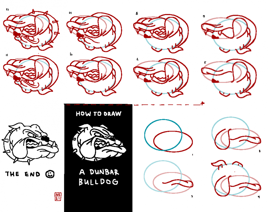 Ever wondered how to draw Dunbar's mascot? Print out and fold staff artist Dylan Stern's newest zine to trace your own, then try doing it yourself!