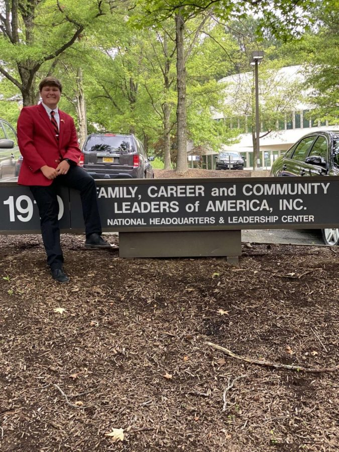 Elected during a pandemic, Logan Justice serves as the National FCCLA Vice President of Membership.