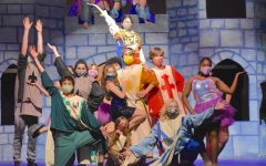 The cast of Spamalot said that this year's musical was a lot of fun and a nice escape from the stress of quarantine.