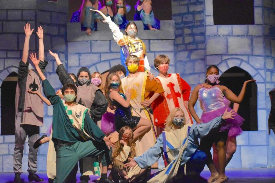The cast of Spamalot said that this years musical was a lot of fun and a nice escape from the stress of quarantine.