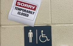 Four of the six boys bathrooms at PLD have been closed after more than a week of daily acts of destruction and theft.